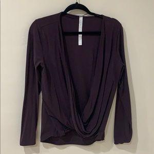 Lululemon Long sleeve Lycra flexible shirt